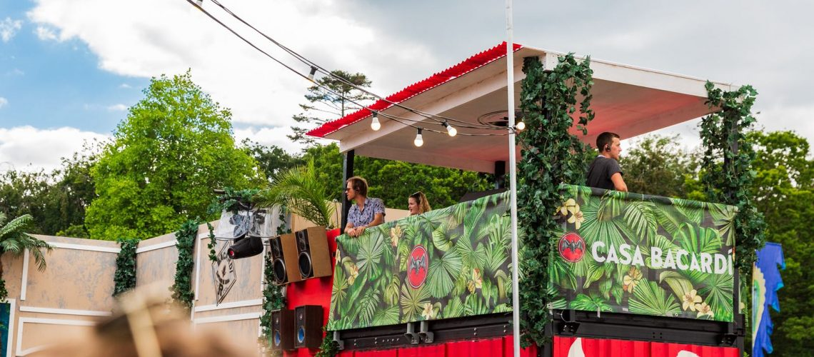 DJ Booth - Brand Activation - Customised Event Structure