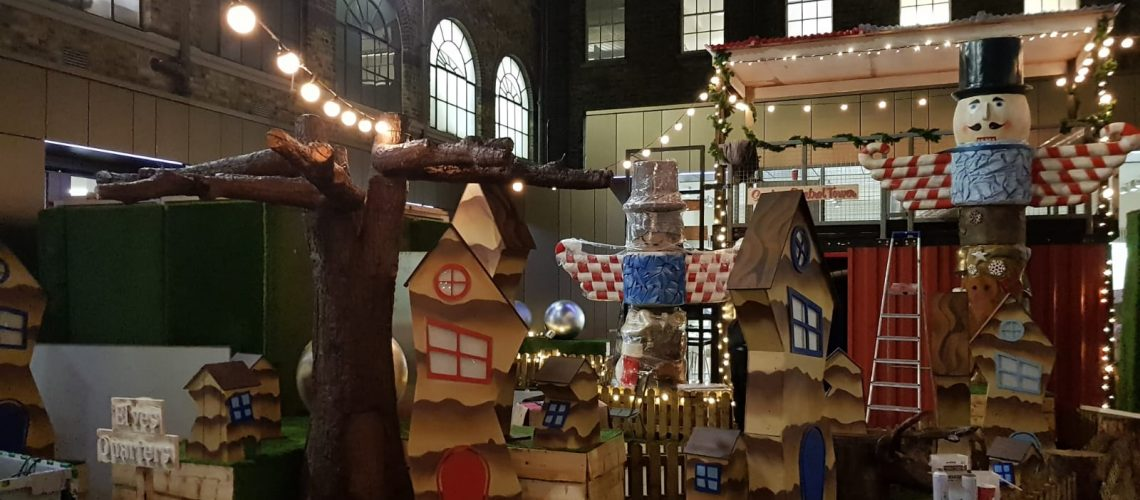 Two Storey Event Structure at Christmas Experience in the GPO, Dublin.