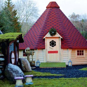 Santa's Journey Through Roundwood