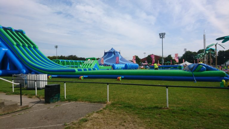 Inflatable Obstacle Run