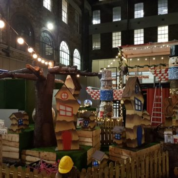 From O'Connell Street to the North Pole: Transforming the GPO into Santa's Grotto.